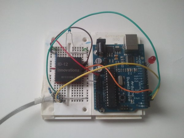 Reading RFID Tags with an Arduino