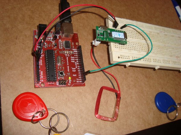 connect Arduino and RFID