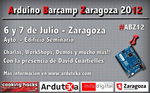 Arduino Barcamp Zaragoza 2012