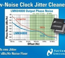 Chip cleans signals clock  to 111fs jitter