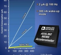 ADI claims lowest power accelerometer