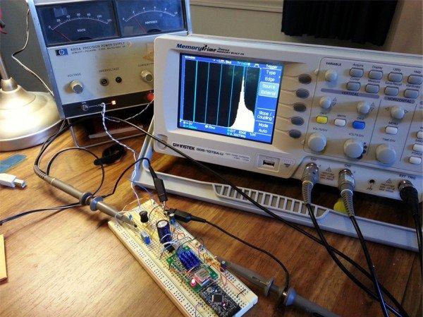 Bode Plot on an Oscillscope