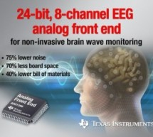 TI has low noise chip for monitoring brain waves