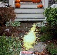 Arduino-Controlled Chemical Foam Spewing Pumpkin