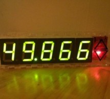 Mains frequency display