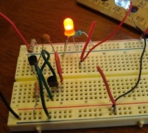 "Joule Thief"" – no IC and no Transformer"
