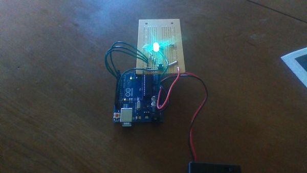 1 LED Game with Arduino Uno and an RGB LED