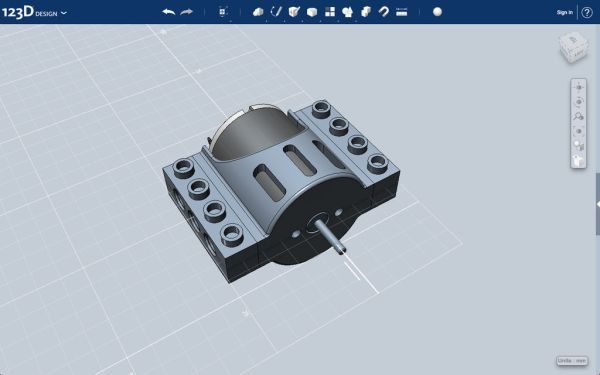 3D Printed Motor Housing