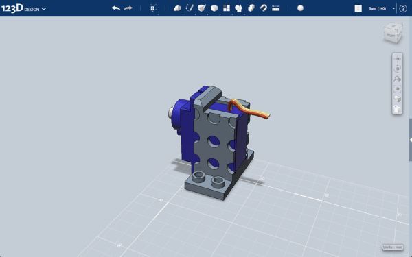 3D Printed Servo Mount
