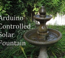 Arduino Controlled Solar Fountain