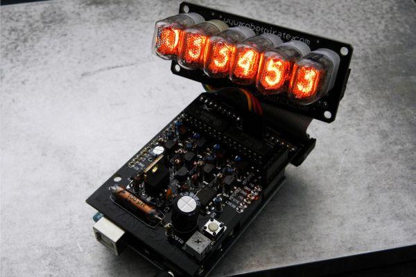 Arduino Powered Nixie Tubes