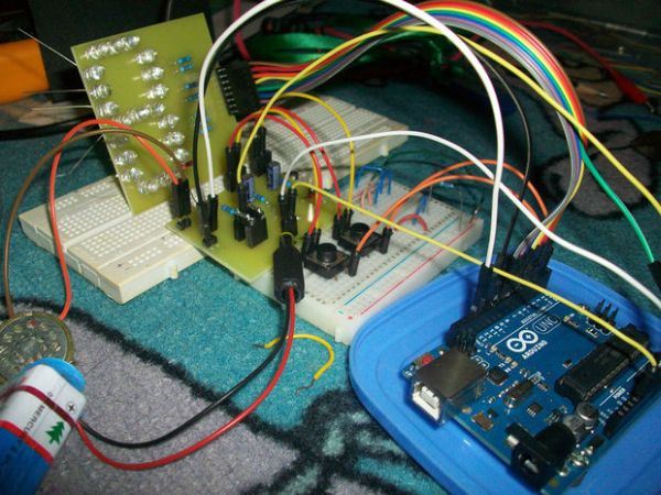 Arduino - Theremin with 7 Segment LED Display
