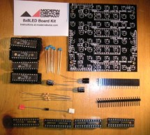 Assembling the 8×8 LED Board Kit