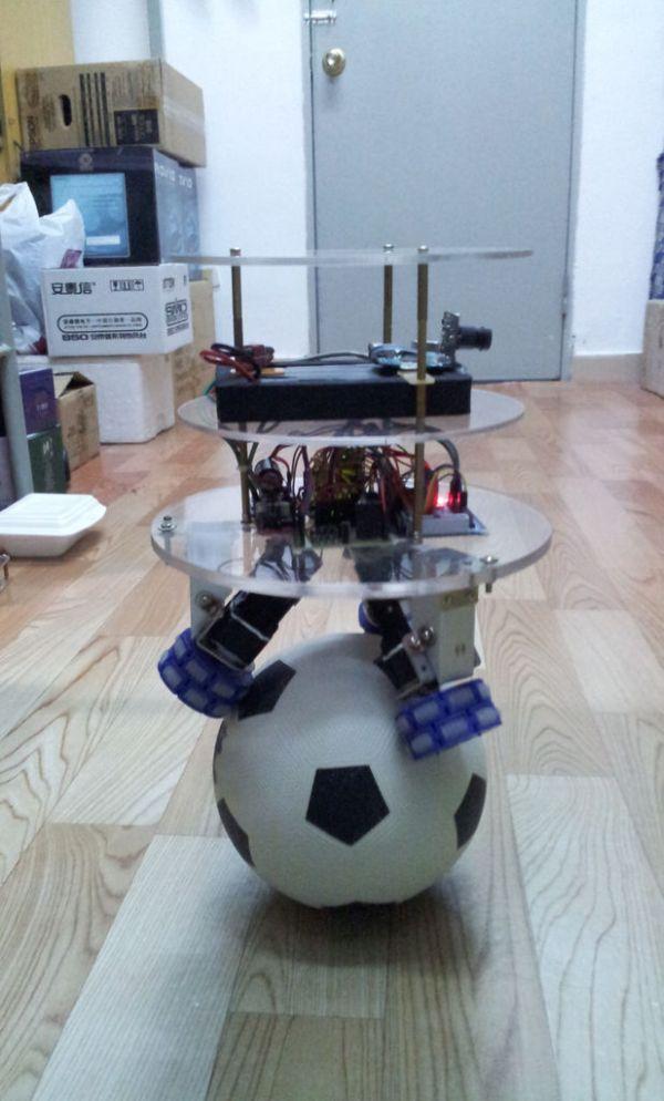 Ball Balancing Robot