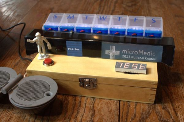 Create an Internet Connected Pill Dispenser