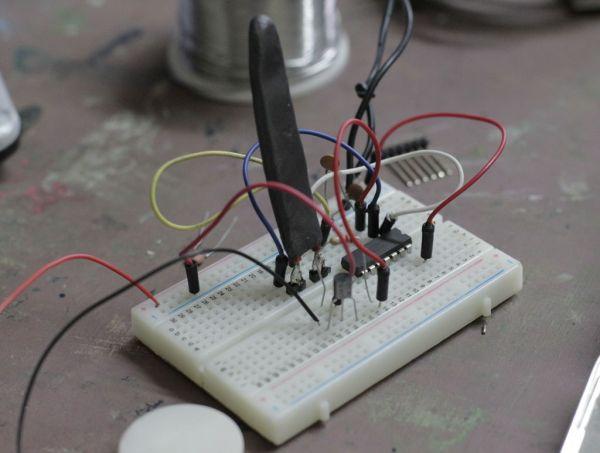 DIY Flex sensor