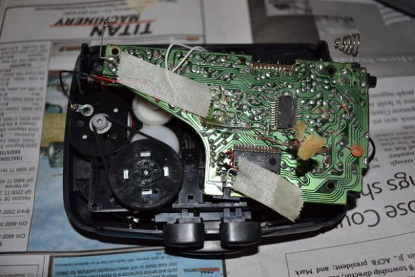 Disassemble Cassette Players