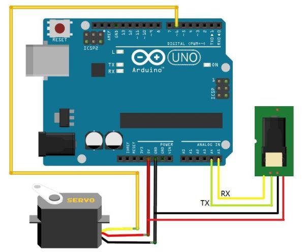 Arduino Fingerprint Lock Use Arduino For Projects