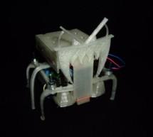 Hexapoduino: tiny hexapod 3D printed, Arduino controlled