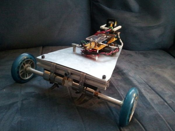 LabVIEW-Controlled Vehicle