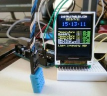 Mini Arduino environment monitor ** UPDATE – Added RTC ***