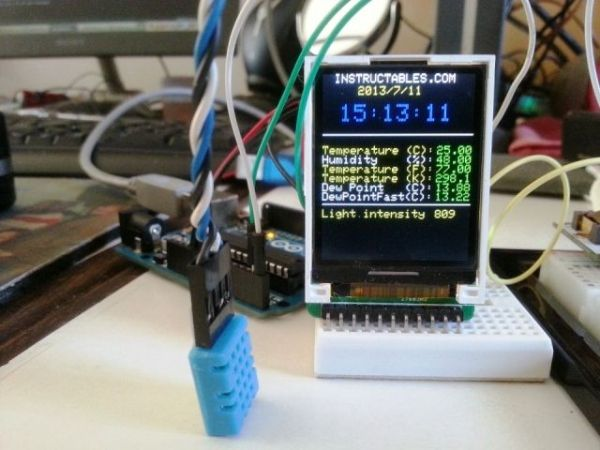 Mini Arduino Environment Monitor Update Added Rtc