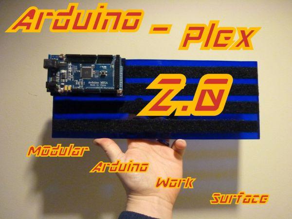 Modular Plexiglas Arduino Work Surface