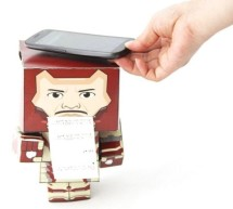Paper Man: a machine created by Arduino and NFC