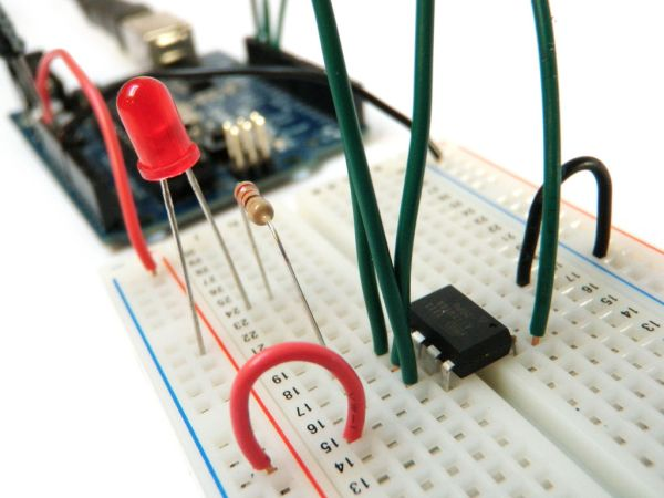 Program an ATtiny with Arduino