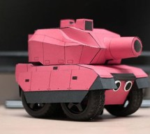 RC Paper Tank – Bring your 3D models to life