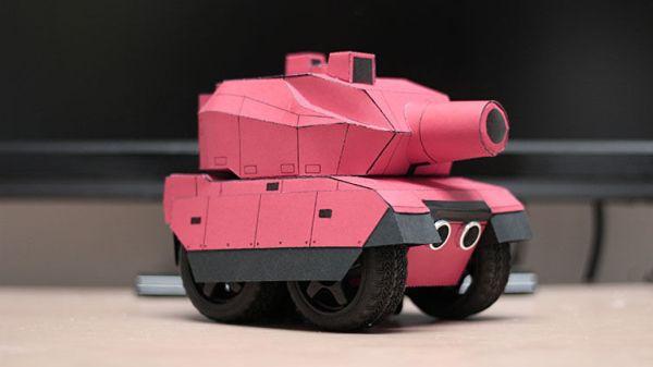 RC Paper Tank