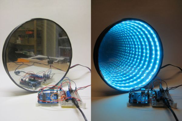 RGB LED Infinity Mirror