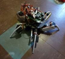 Simple 18dof Hexapod, Arduino nano (optionally with pololu maestro)