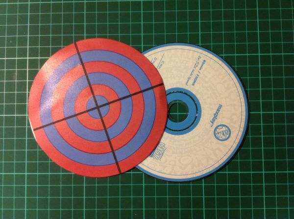 Stick the target board on the PCB
