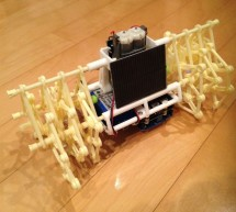 Strandbot – a solar & arduino powered R/C motorized Strandbeest