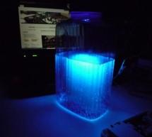 Ultraviolet nightlight, ingredients and setup