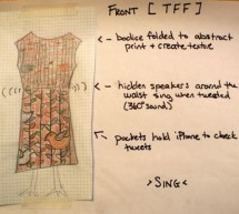 Making the TFF: a dress that gets excited when tweeted