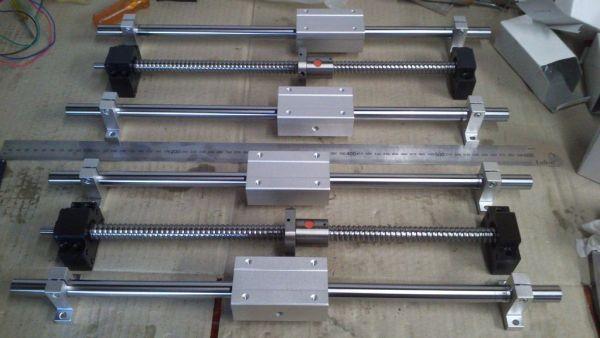 ballscrews and linear bearings
