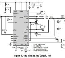 Design Notes: 60V, Synchronous Step-Down High Current LED Driver
