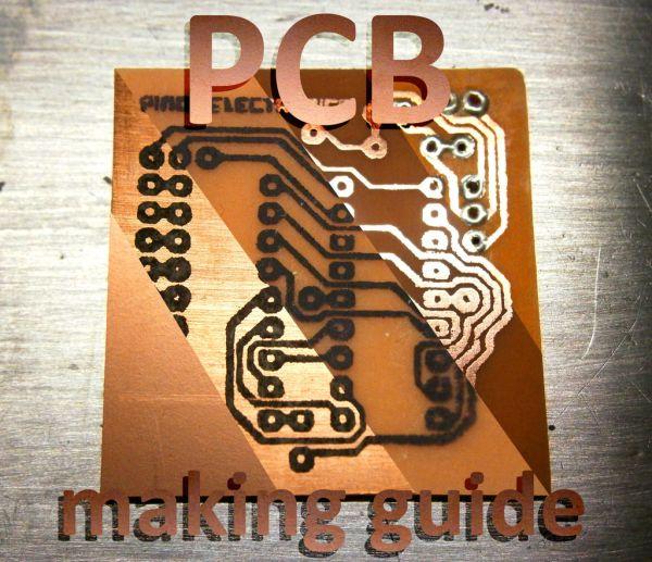 PCB making guide
