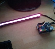 LANp – A DIY Arduino network controllable RGB lamp made from scanner parts!
