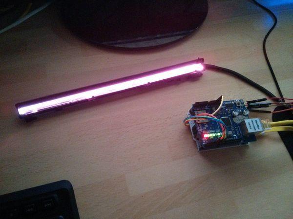 A DIY Arduino network controllable