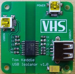 Simple USB Isolator