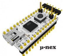 U-nex – a Arduino compatible, 32KB USB development board for $9, on Indiegogo