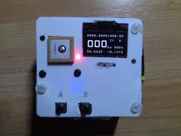 A Small GPS Arduino Watch  Clock