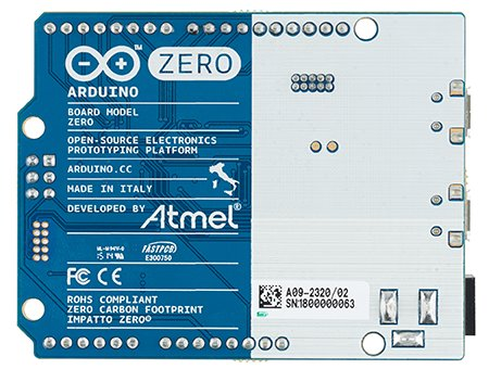 Arduino Zero Rear