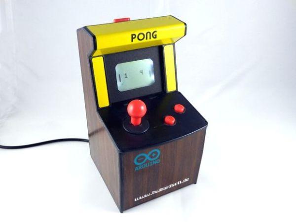Mini Pong arcade using Arduino