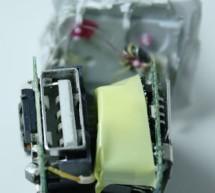 Apple iPhone charger teardown