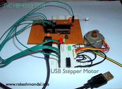 USB Stepper Motor Driver