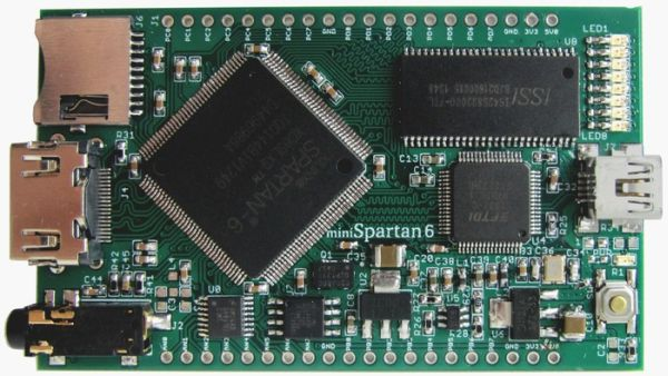 miniSpartan6+  A Powerful FPGA Board and Easy to Use IDE